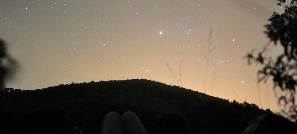 Taller de iniciación a la astronomia- Aracena